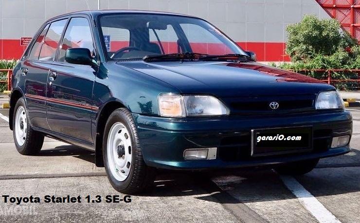 Toyota Starlet Kapsul 1.3 SE-G 1995