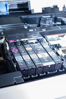 PIXUS TS6330 は5 色独立インクなので必要なインクだけ交換が可能