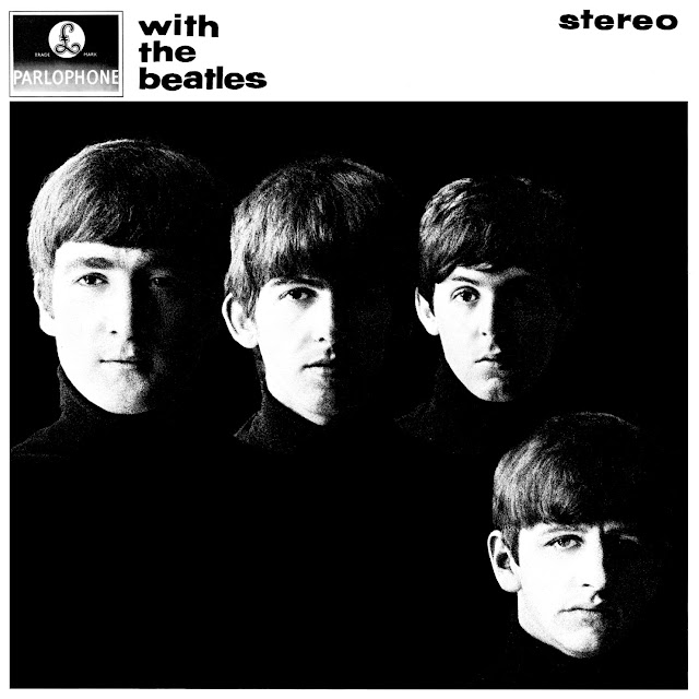 'With the Beatles' - album cover.