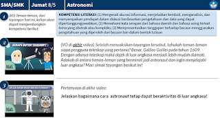 Agar astronaut tetap bisa beraktivitas di luar angkasa
