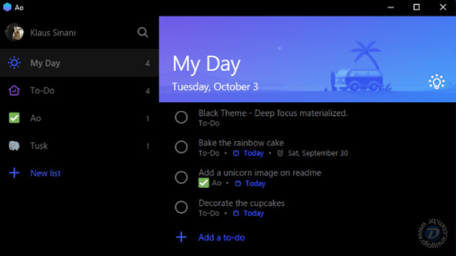 Microsoft To-Do App Linux