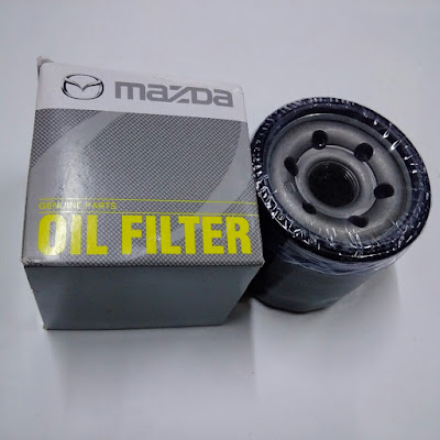 Lọc dầu Mazda 2, 3, 6, CX5 thuộc hệ thống bôi trơn của xe ô tô. Nhập khẩu từ Thái Lan. Lọc dầu Mazda 2, Mazda 3, Mazda CX-5 | B6Y114302A