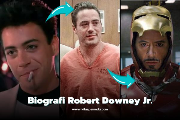 Profil Inspiratif Robert Downey Jr.