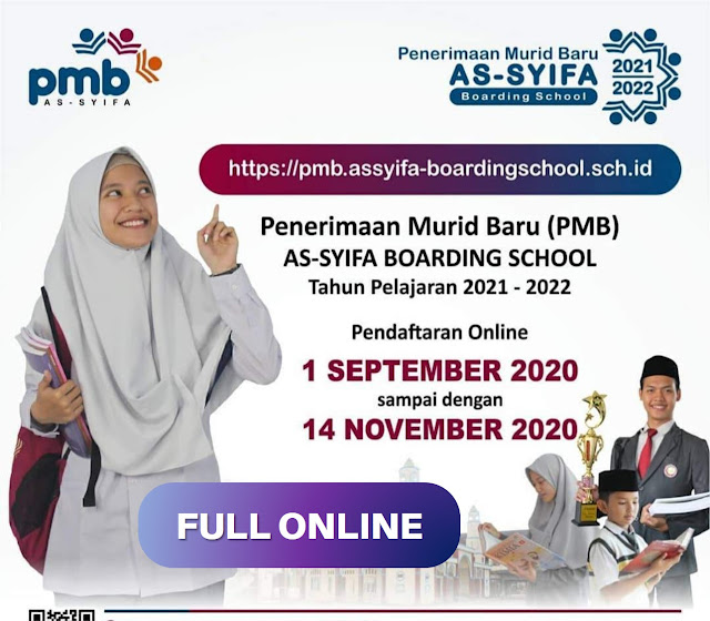 Full Online Penerimaan Murid Baru Assyifa Boarding School 2021
