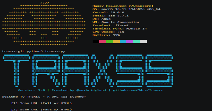 Traxss : Automated XSS Vulnerability Scanner