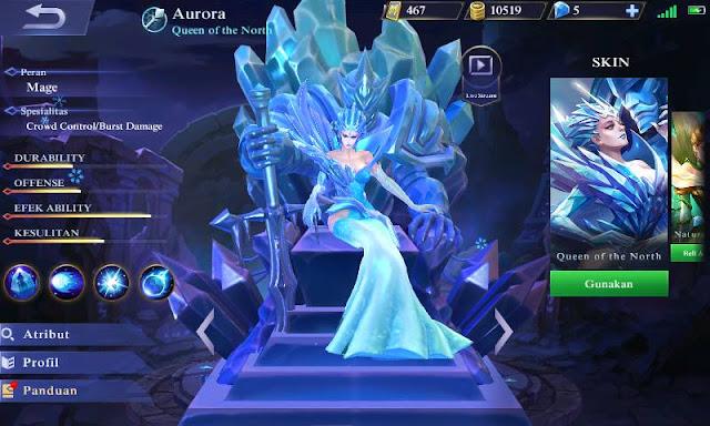 Build item Aurora Mobile Legends