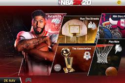 NBA 2K20 MOD APK Unlimited Money + OBB v97.0.2 | 98.0.2 (Game Basket Android OFFLINE)