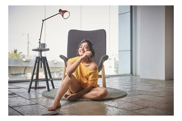 Actress Rashmika Mandanna Latest Stills 2019