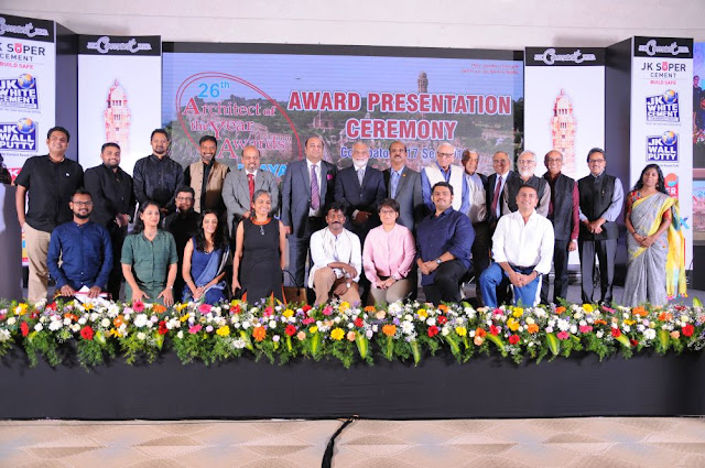 JK Cement Ltd. announces winners of the 26th edition of Architect of the Year Awards 2017