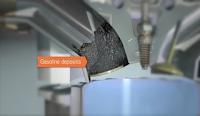 Gambar deposit petrol pada valve enjin