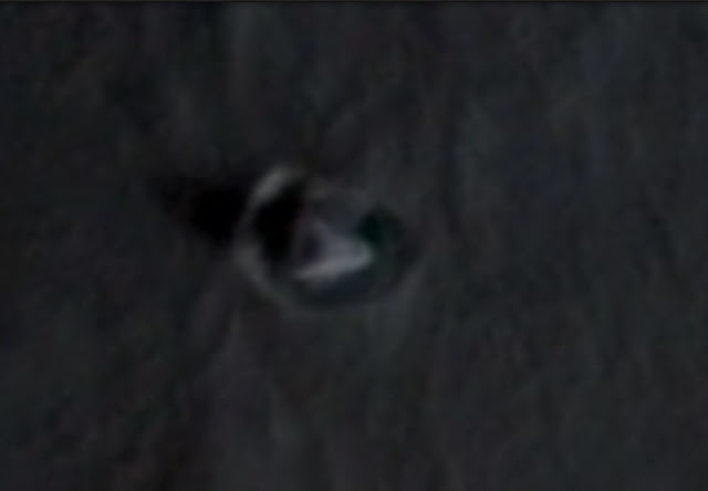 UFO evidence caught on camera on the Moon.