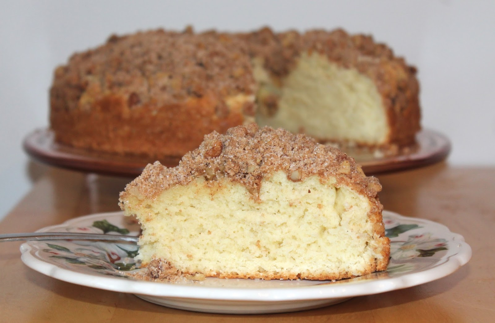Savory Moments: Quick coffee cake (Blitzkuchen)