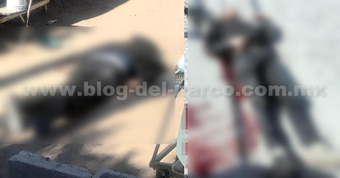 En Hermosillo; Sonora Sicarios se envalentonaron y emparejaron su vehiculo a una Patrulla, dispararon a Policías, pero los elementos repelieron la agresión y abatieron a dos de ellos