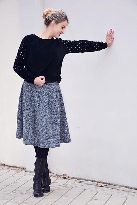 Outfit-falda-punto-gris-8