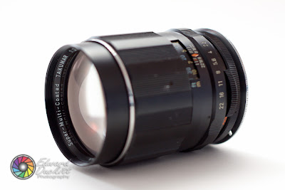 Takumar SMC 135mm f2 5 and M42-EOS EF adapter on a Canon 50D