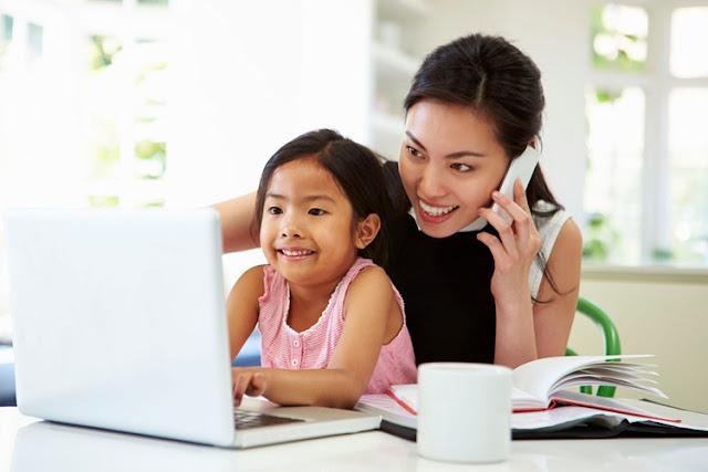 Bunda, Inilah Tips Menghabiskan Waktu di Rumah Bersama Anak