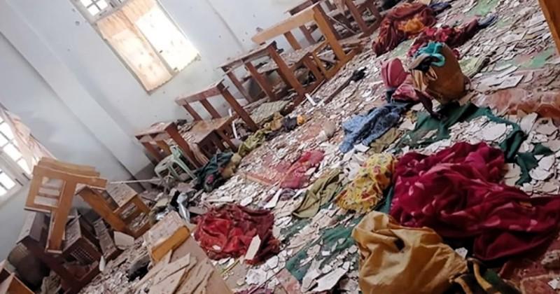Keterlaluan! Militer Myanmar Serang Gereja, Empat Orang Tewas