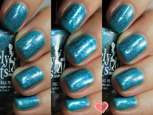 Girly Bits I'll Stand Bayou swatch by Streets Ahead Style