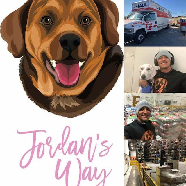 Jordan's Way Fundraising Campaign promotional material