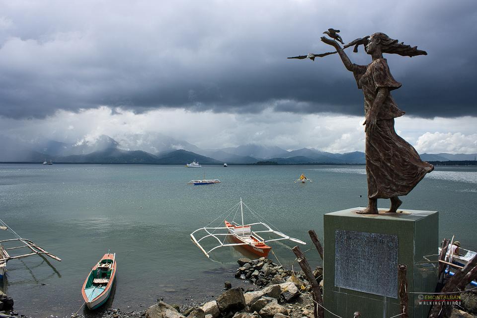 Princesa ng Baybay Statue along Puerto Princesa Baywalk