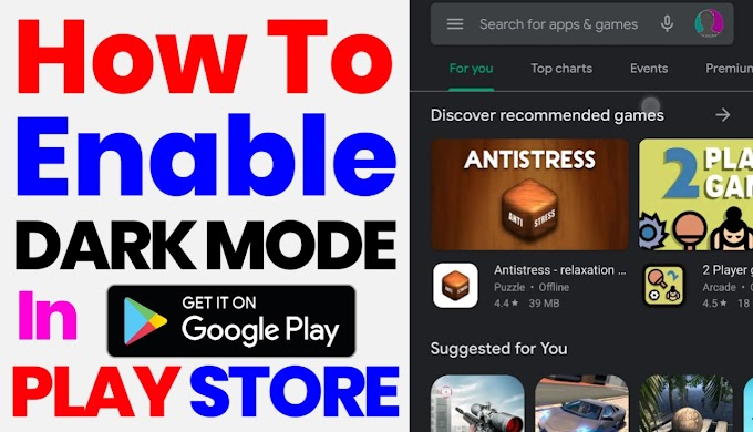 How To Enable Dark Mode In Play In Hindi 2020 | Step By Step |