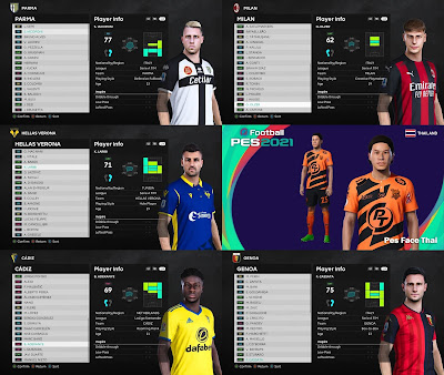 PES 2021 MiXed Facepack 9