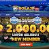 Bonus BolaJP 2.000.000 Rupiah Untuk Setiap New Member