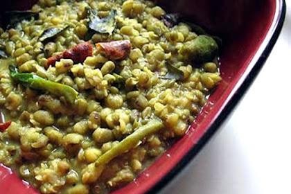 Mung Bean and Tamarind Dal