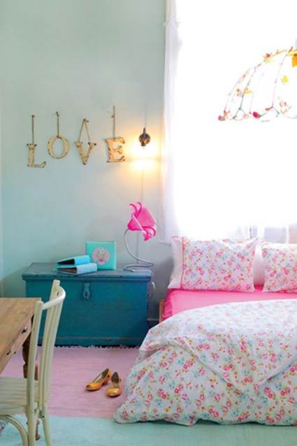 Unique Ideas for decorating little girls' bedrooms 5