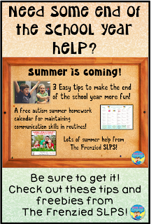 Great tips and freebies for the end of the year and summer carryover!