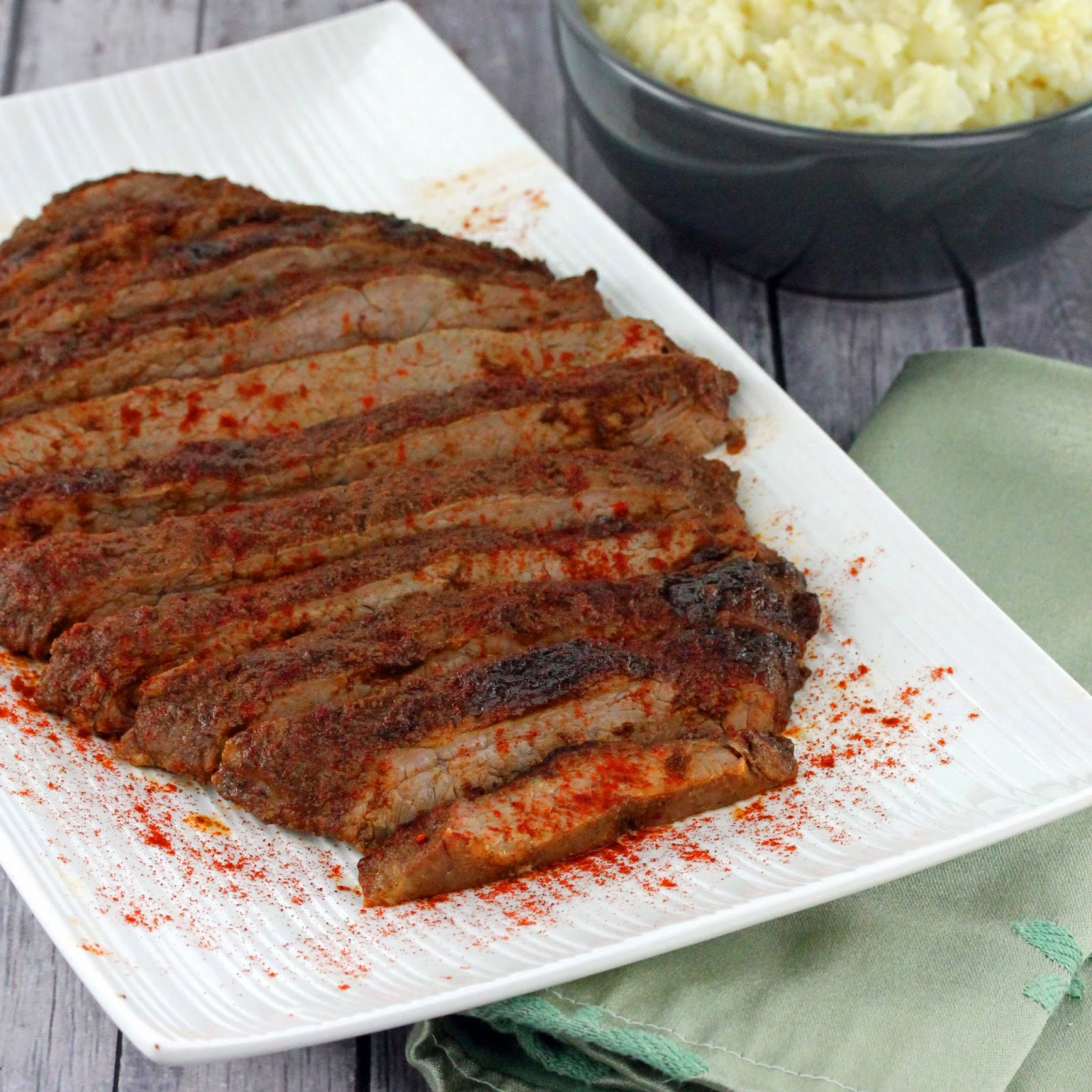 Oven Roasted Flank Steak Thestayathomechef Com