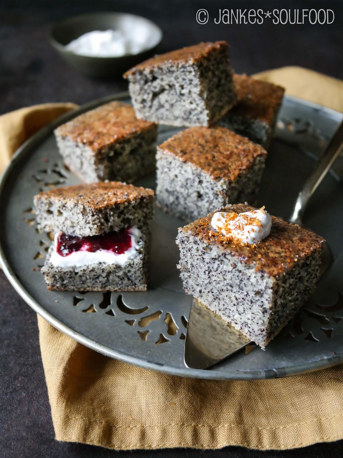 Mohn-Grieß-Kuchen von Jankes Soulfood