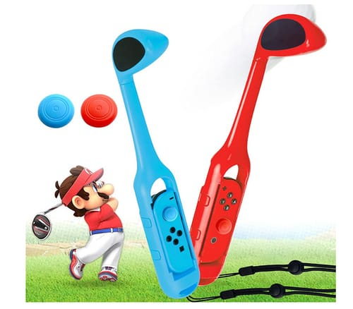 ZJRUI Mario Switch Golf Club Pressed ZL&ZR Controller