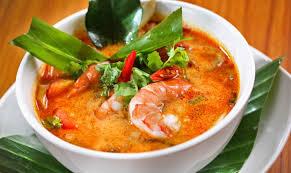 Canh hải sản nấu chua