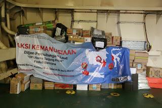 OP Tanjung Priok Kirim Bantuan Masyarakat ke Sulbar Pakai Kapal Pelni