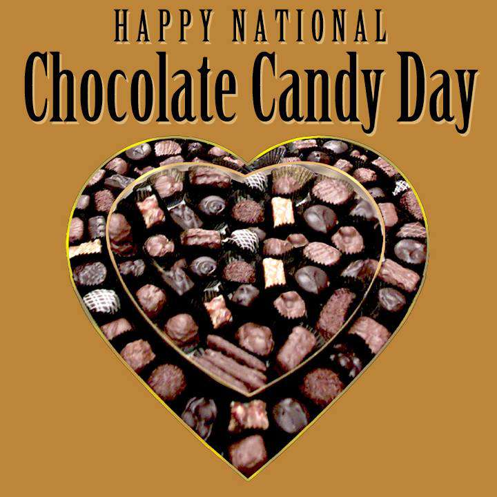 National Chocolate Candy Day Wishes Awesome Picture