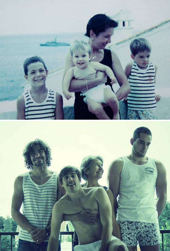 Sons have grown up ..