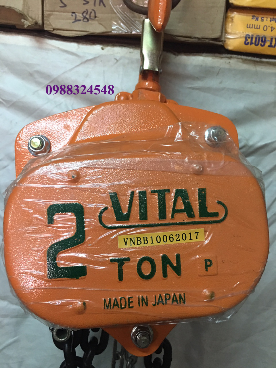 palang kéo tay Vital VP5-20 2000kg