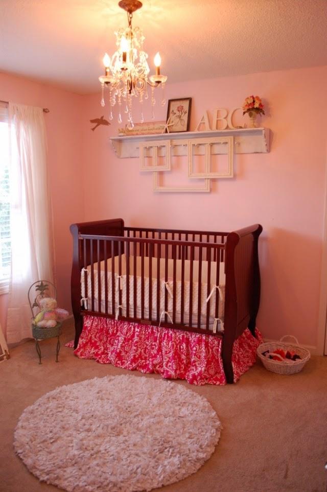 Cuartos color salm n para beb s dormitorios colores y - Alfombra habitacion nina ...