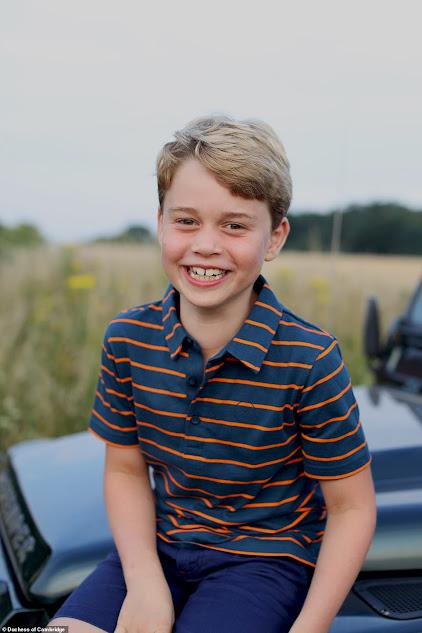 Prince George is 8 Years Old!