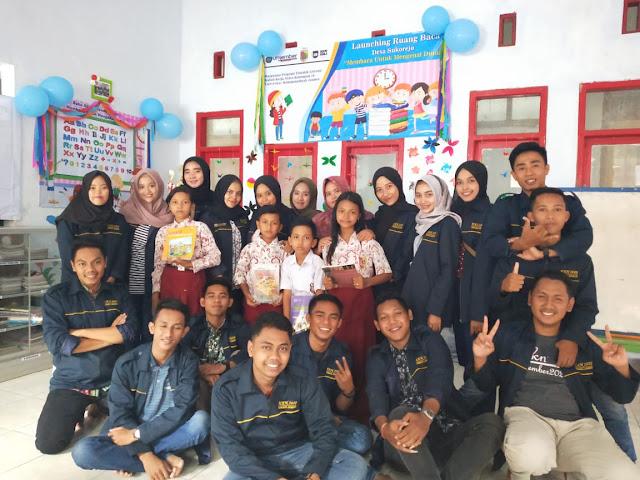 Mahasiswa KKN Launching Ruang Baca di Desa Sukorejo