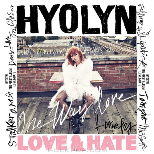 HYOLYN – LOVE & HATE (FLAC + ITUNES PLUS AAC M4A)