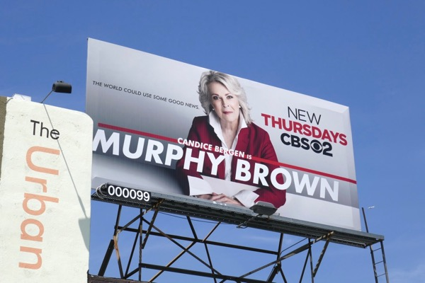 Murphy Brown 2018 launch billboard