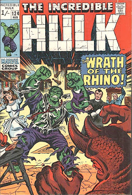 Incredible Hulk #124, the Rhino