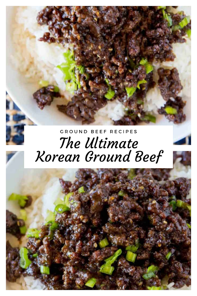 Ultimate Korean Ground Beef