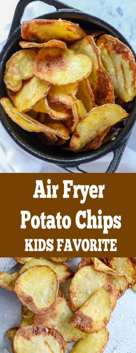 Easy Air Fryer Potato Chips Recipe