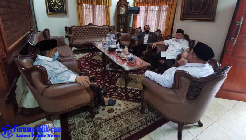 Bahas Kebangsaan, Ketua DPD RI LaNyalla Mattalitti Temui Ketum PBNU  Jelang Agenda Reses