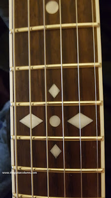 Zemaitis A24SU White Pearl Diamond 12th fret inlay
