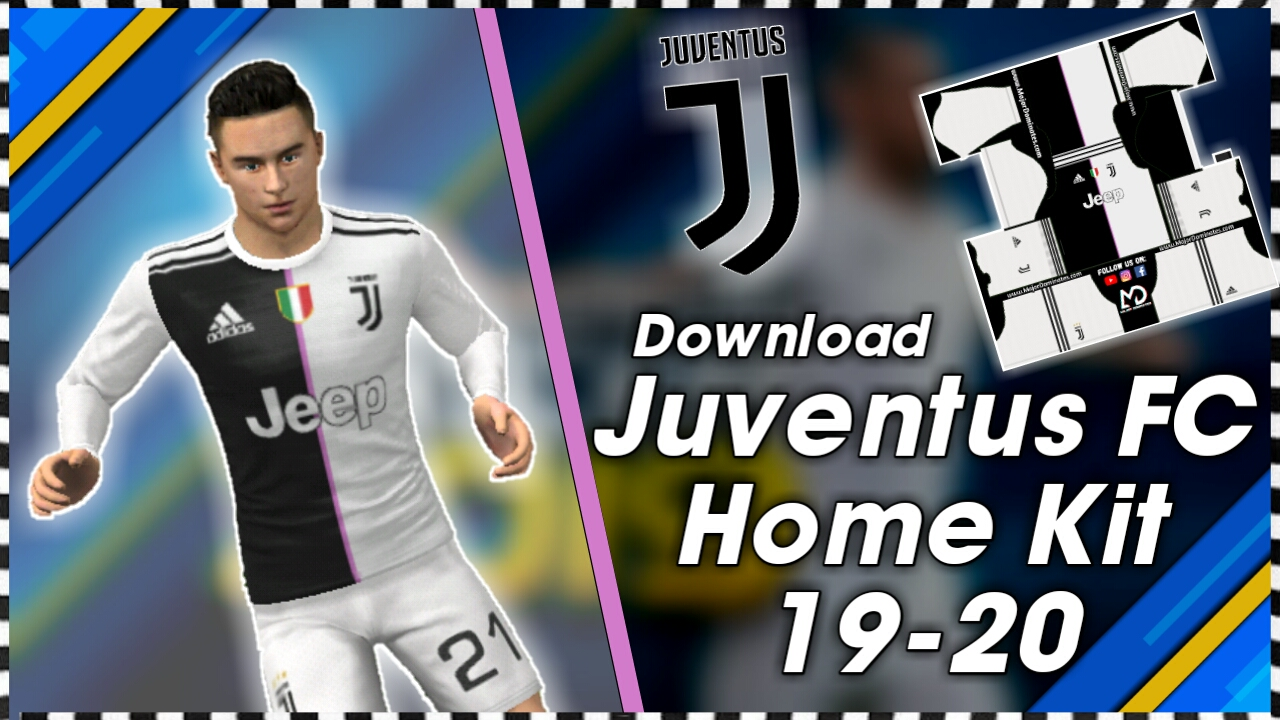 Juventus FC Kit 2019-20 For Dream League Soccer 2019