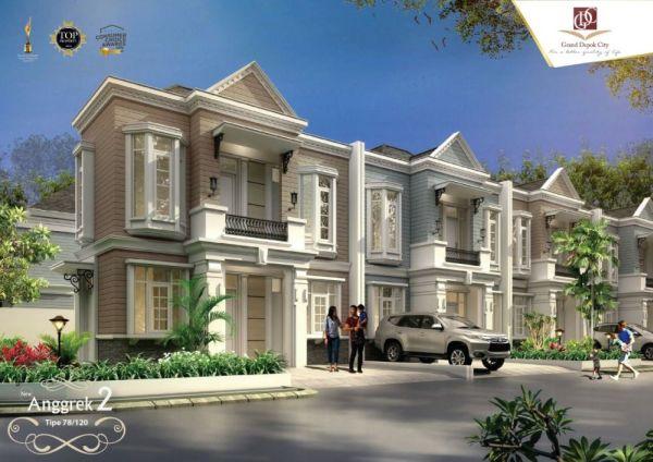 DataRumah: Rumah Cluster Desain Minimalis Cantik di Grand